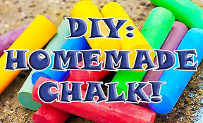 diy how to make your own homemade chalk perfect for kids arts