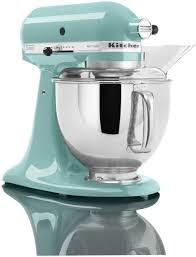 artisan kitchen aid 5 quart stand mixers aqua sky color