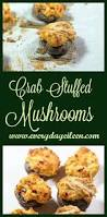 check out crab stuffed mushrooms it u0027s so easy to make low fat