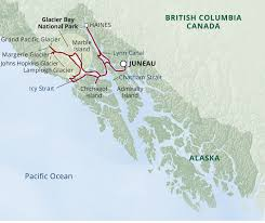 Canada National Parks Map by Glacier Bay National Park Adventure Cruise Uncruise