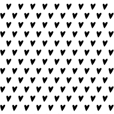 m m wrapping paper gift wrapping paper hearts set of 3 sheets 100 grs glossy paper