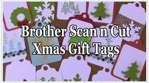 make your own unique christmas gift tags with the brother scan n