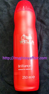 wella professionals brilliance u2013 shampoo for coloured hair