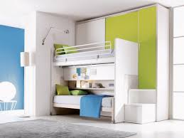Bunk Beds For Small Spaces Bedroom Space Saving Bed For Small Room Idea Showed By Folded