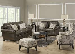 accent chairs for brown leather sofa livingroom winsome sofa accent chair with brown leather gallery