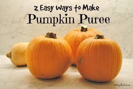 2 easy ways to make pumpkin puree 100 days of real food