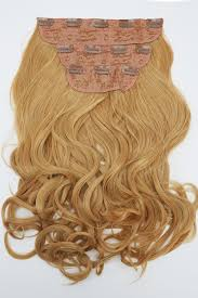 Tap In Hair Extensions curly clip in hair extensions honey blonde or tanned blonde
