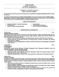 It Analyst Resume Examples by Business Or Systems Analyst Resume Template Premium Resume