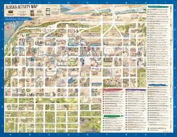 Alaska State Map by Downtown Anchorage Map