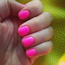 barbie pink gel nails nailed it pinterest pink gel nails