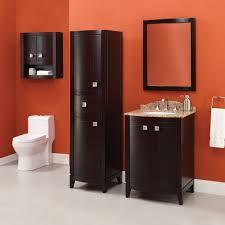 Cherry Bathroom Vanity by Bathroom Dark Cherry 24 Bathroom Vanity Bypass Door Cabinet And