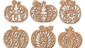 filigree fretwork pumpkins scroll saw woodworking crafts
