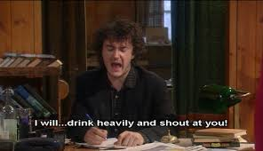 Black Books Meme - 41 images about black books dylan moran on we heart it see more
