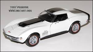 1969 zl1 corvette for sale 1969 corvette zl1 in 1 24 scale by franklin mint diecast model