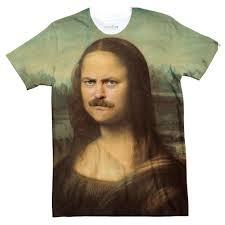 Mona Mona Swanson T Shirt Shelfies
