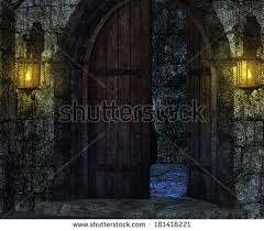 Castle Backdrop Castle Interior Fantasy Backdrop Stock Illustration 150206084