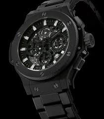 all black discount hublot all black ii replica watches with cheap price