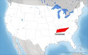 Tennessee Political Map by Where Is Tennessee Located On The Map