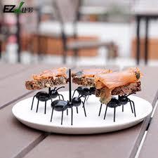 ameisen k che 12 teile los kreative kunststoff ameisen lebensmittel obst picks
