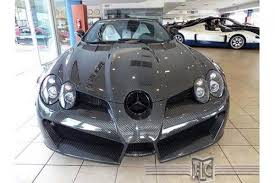 mansory mclaren carverse epic find of the day mansory mercedes slr mclaren