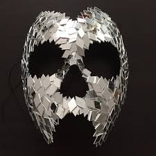 halloween mask vine venom skull layered carnival of mirrors mirror halloween mask