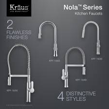 kraus kpf 1640ch nola polished chrome pro pre rinse units kitchen