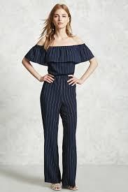 forever 21 jumpsuits jumpsuit hombros descubiertos mujer vestidos jumpsuits