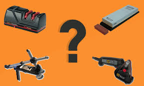what is the best way to sharpen kitchen knives knife sharpening equipment what are the options