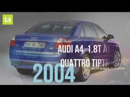 2004 audi a4 quattro review 2004 audi a4 1 8t avant quattro tiptronic specs review