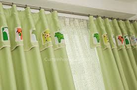 Green Kids Curtains Kids Bedroom Or Living Room Curtains Uk In Bud Green Color