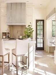 Kitchen Range Backsplash Bowl Shade Black Hanging Lighting Neutral Kitchen Design Ideas