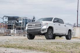 toyota 4wd 2 5 3in leveling lift kit for 07 17 toyota 4wd tundra rough