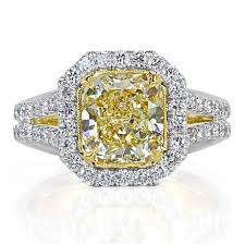 fancy yellow diamond engagement rings fancy color diamond engagement rings engagement rings broumand