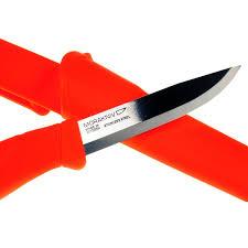 mora kitchen knives mora companion bright safety knife greenman bushcraft