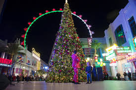 gallery holiday tree lighting at the linq promenade ksnv