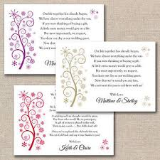 Snowflake Wedding Invitations 50 X Diy Snowflake Wedding Poem Cards For Invitations Money Cash