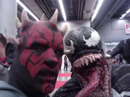 wore my darth maul mask at comic con bodybuilding com forums