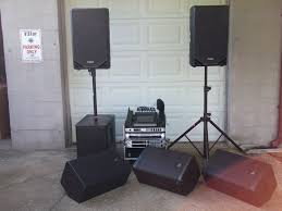 Diy Audio Equipment Rack Pre Packaged Sound Systems 4th Street Sound Rental When You