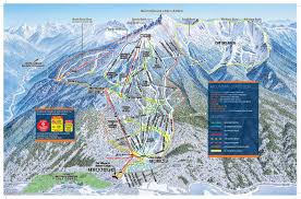 Ski Resorts In Colorado Map by Alta Ski Area Trail Map Pajarito Mountain Ski Area Trail Map Top