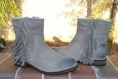 womens size 12 fringe boots ugg australia belcloud s leather boots 1900 u s size 12 uk