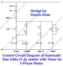 wiring diagram wiring diagram 3 phase star delta starter wiring
