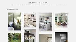 interior design website inspiration