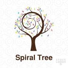 exclusive customizable logo for sale spiral tree stocklogos