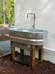 outdoor kitchen sinks ideas fascinating outdoor kitchen sink ideas trends also sinks for bar