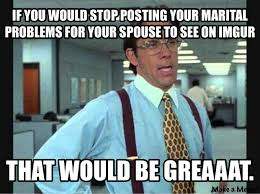 Dirty Laundry Meme - talk to your spouse don t passive aggressively air your dirty