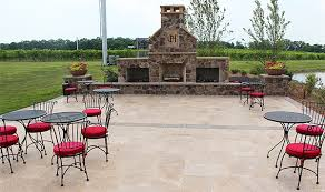 Travertine Patio Patio U0026 Walk Designs Revolutionary Gardens