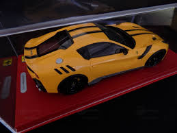 Ferrari F12 Orange - ferrari f12 tdf modelcar bbr 1 18 in giallo modena black