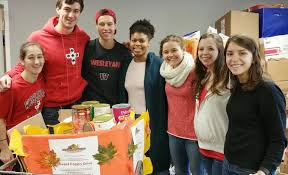 thanksgiving families community service news wesleyan