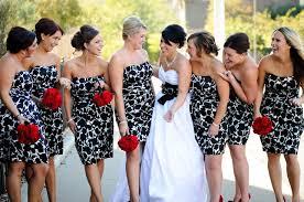 and white bridesmaid dresses wedding dresses ideas strapless knee length sheath floral flower