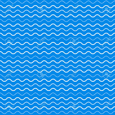 vector blue waves seamless abstract pattern background royalty